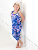 GIRLS 2-6 SCOOPED RACERBACK TANK