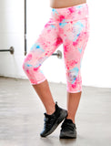 GIRLS 2-6 PARADISE PALM CAPRI LEGGING