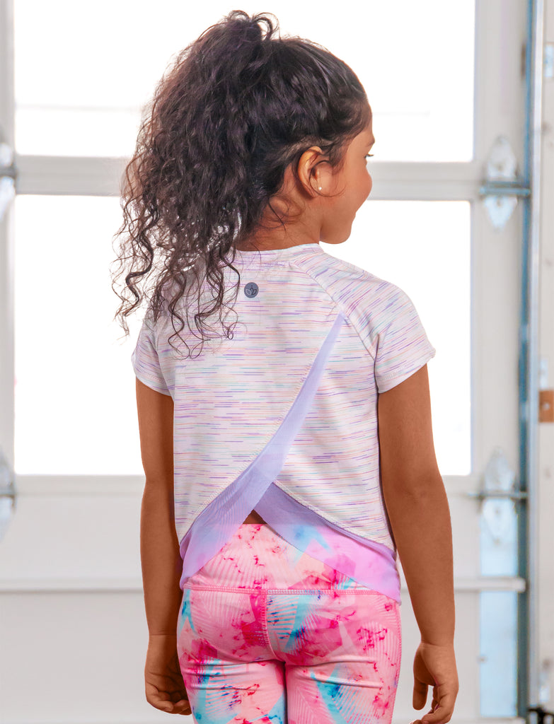 GIRLS 2-6 OPEN BACK ACTIVE T