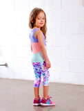GIRLS 2-6 COLOR BLOCKED TANK