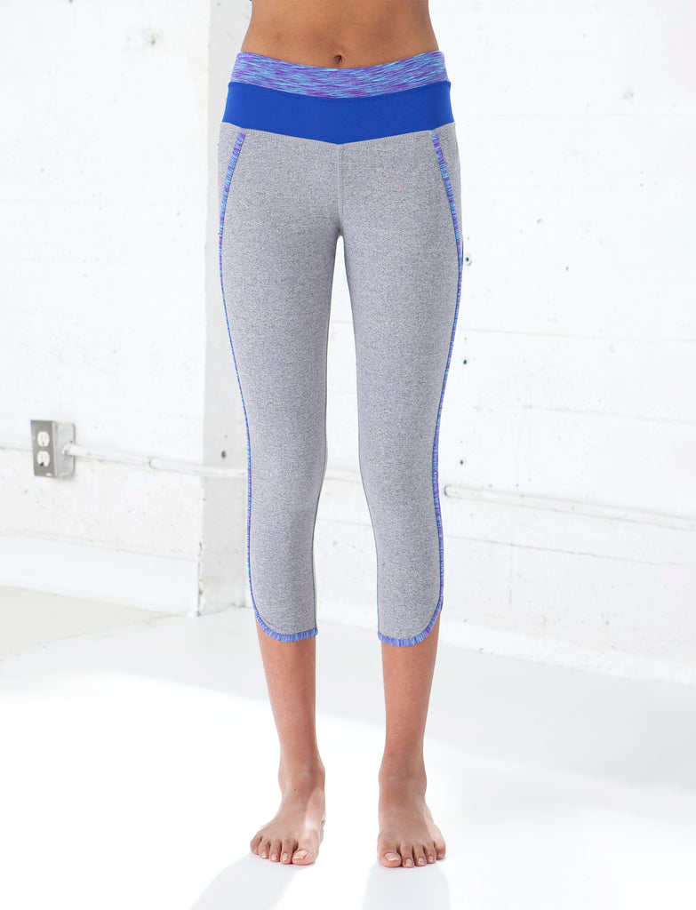 GIRLS RETRO CAPRI LEGGING