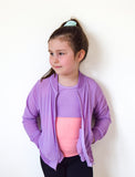 GIRLS 2-6 ON THE GO MESH BOMBER