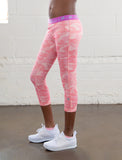 GIRLS ALLOVER PRINT CAPRI LEGGING