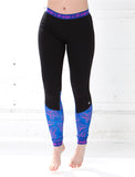LADIES ELASTIC TRIM CUT AND SEW LEGGING