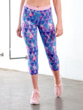 LADIES PERFECTLY PINEAPPLE CAPRI LEGGING