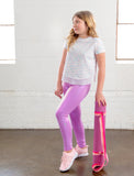 GIRLS  IRIDESCENT LEGGINGS