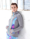 LADIES CUT AND SEW ATHLETIC JACKET