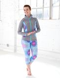 LADIES KALEIDOSCOPE CAPRI LEGGING