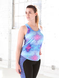 LADIES SCOOPED RACERBACK TANK