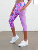 GIRLS CUT AND SEW CAPRI LEGGING