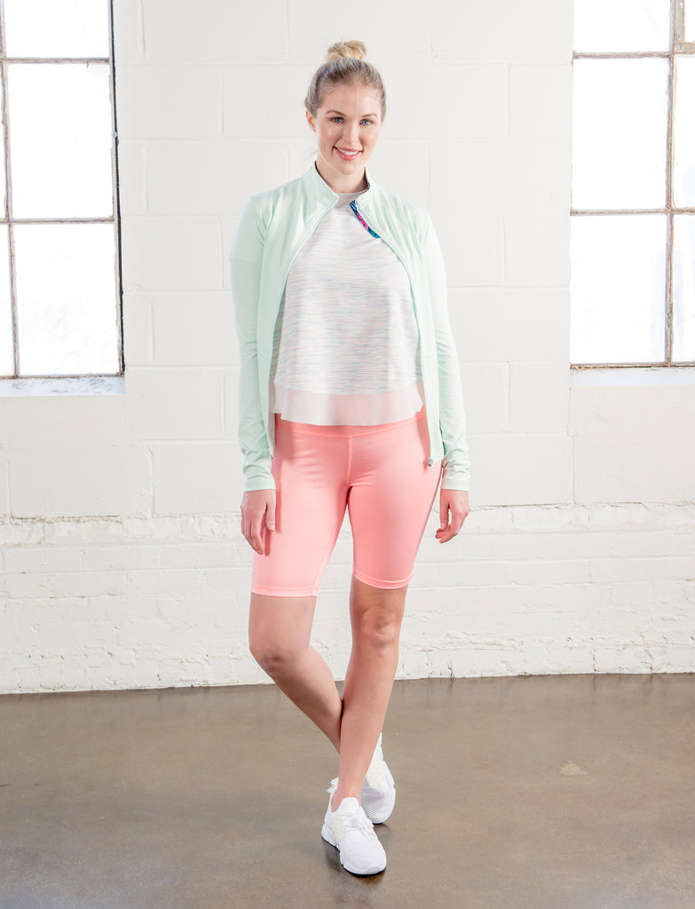 LADIES HIGH RISE BIKE SHORT