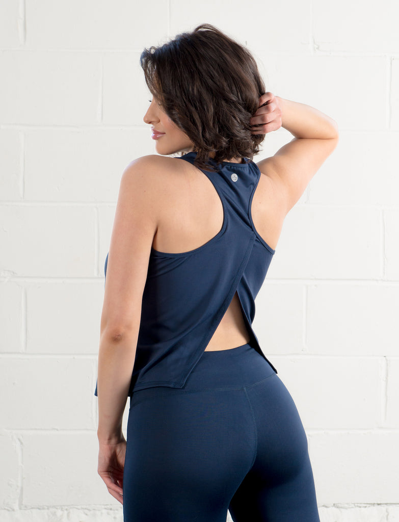 LADIES  OPEN BACK TANK