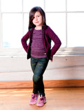 GIRLS 2-6 ALLOVER PRINT LEGGING
