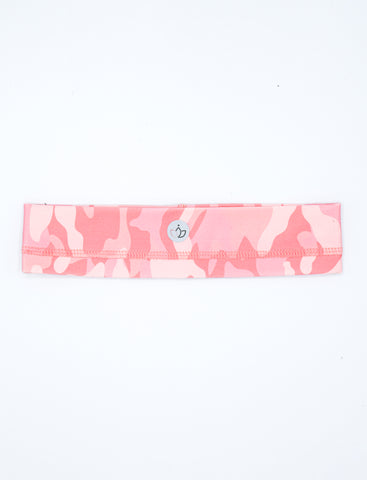 GIRLS QUARTZ CAMO ATHLETIC HEADBAND