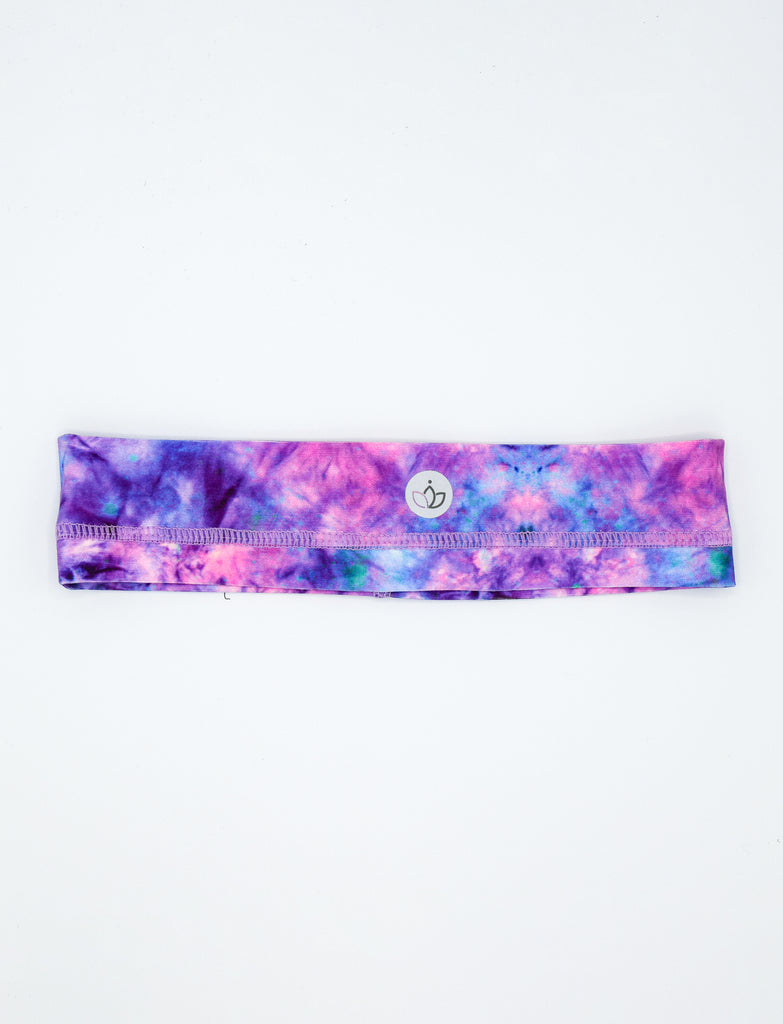 GIRLS TIE DYE PRINT ATHLETIC HEADBAND