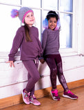 GIRLS 2-6 KNOTTED SWEATSHIRT