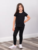 GIRLS 2-6 FULL LENGTH LEGGING