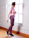 GIRLS SIDE POCKET LEGGING