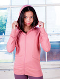 GIRLS SIGNATURE  ZIP FRONT HOODY