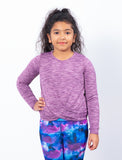 GIRLS 2-6 WRAP FRONT T