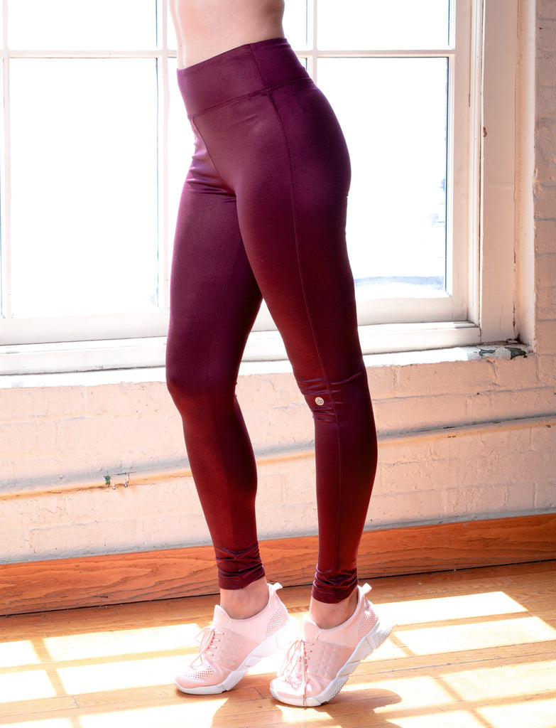 LADIES COATED LEGGINGS