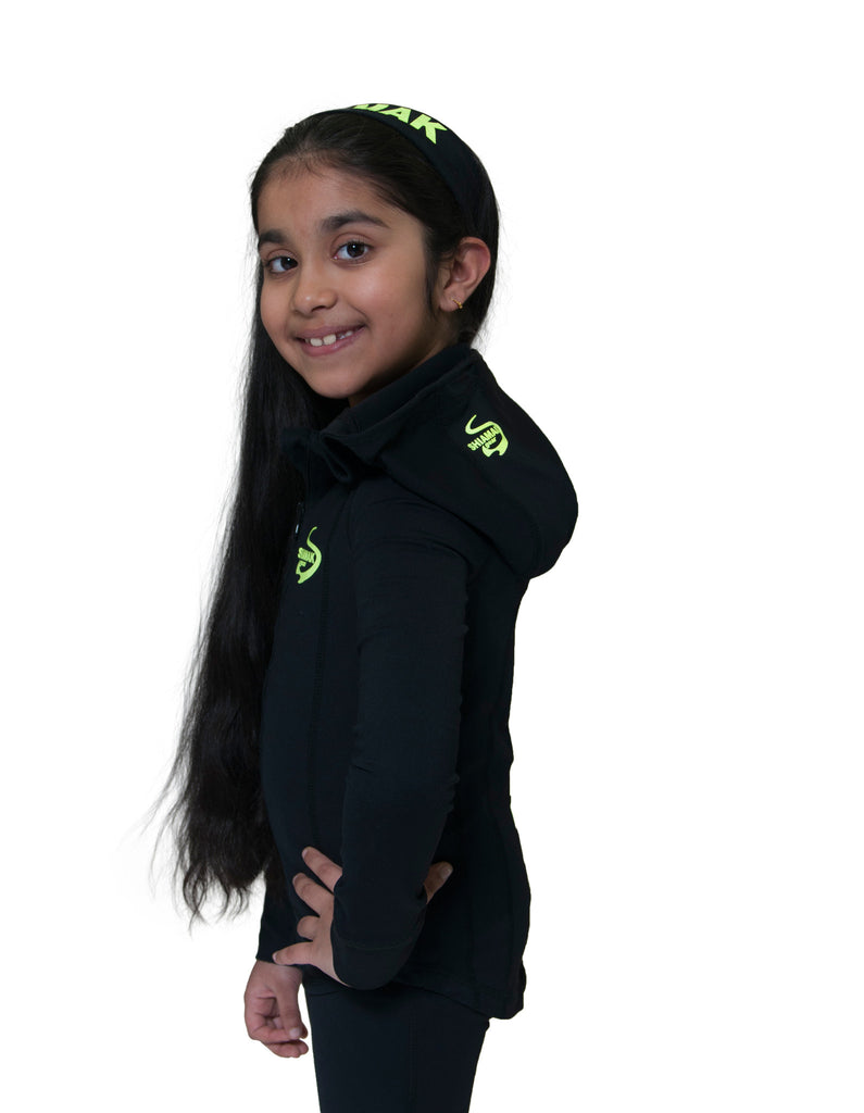 GIRLS SIGNATURE SHIAMAK HOODED JACKET