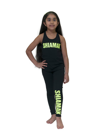 GIRLS ATHLETIC LEGGING