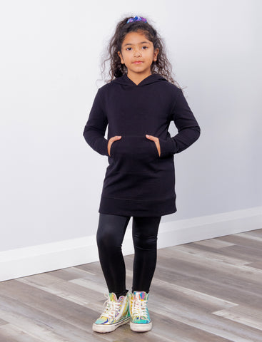 GIRLS 2-6 COATED LEGGINGS