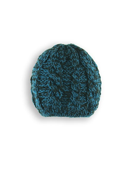 BOY'S 4-16 MARLED CABLE KNIT TOQUE