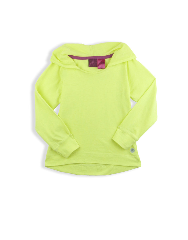 LITTLE GIRLS HOODED L/S T-SHIRT