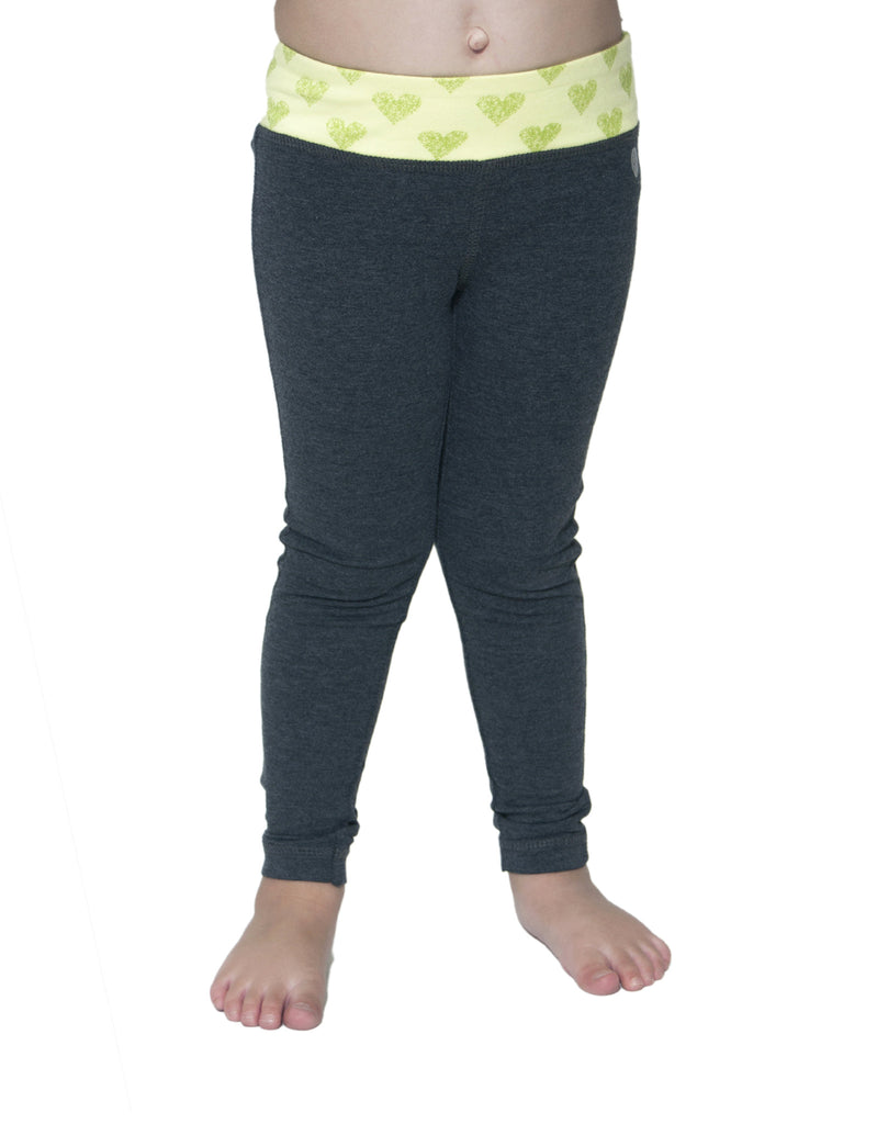 LITTLE GIRLS PRINTED WAIST LEGGING