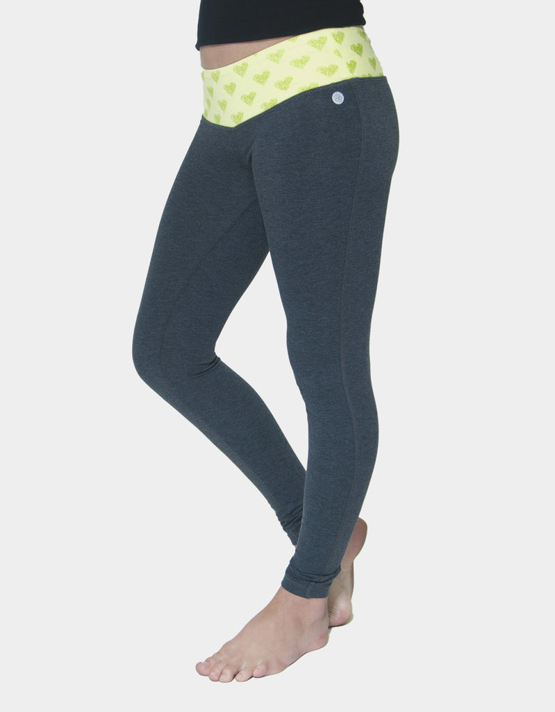 GIRLS PRINTED WAIST LEGGING