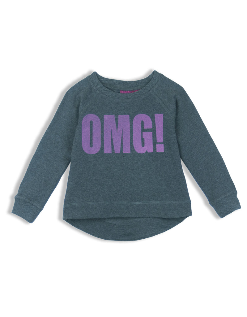LITTLE GIRLS GRAPHIC SWEATSHIRT