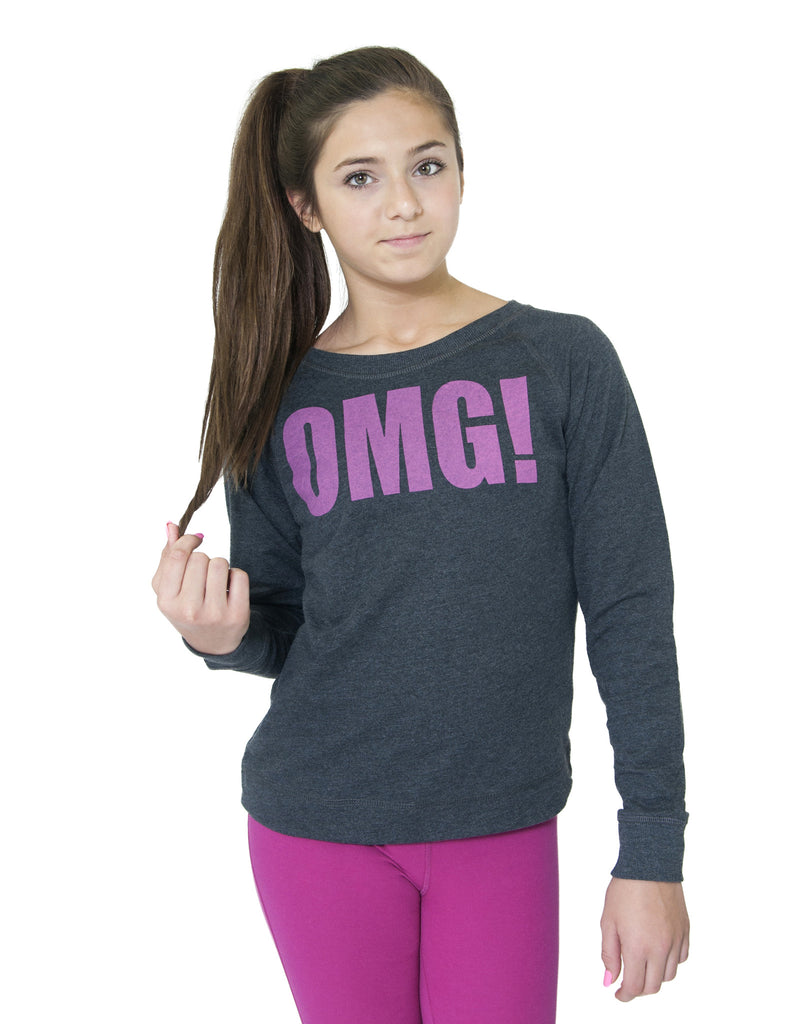GIRLS GRAPHIC SWEATSHIRT