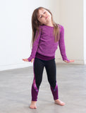 GIRLS 2-6 CUT AND SEW LEGGINGS