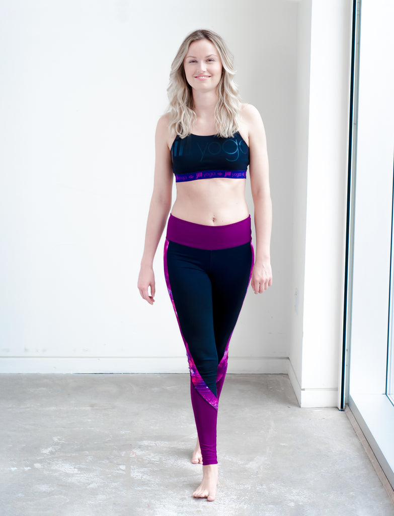 "LADIES ""JILL YOGA"" ACTIVE CROP"