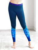 LADIES ELASTIC WAIST CUT AND SEW LEGGINGS