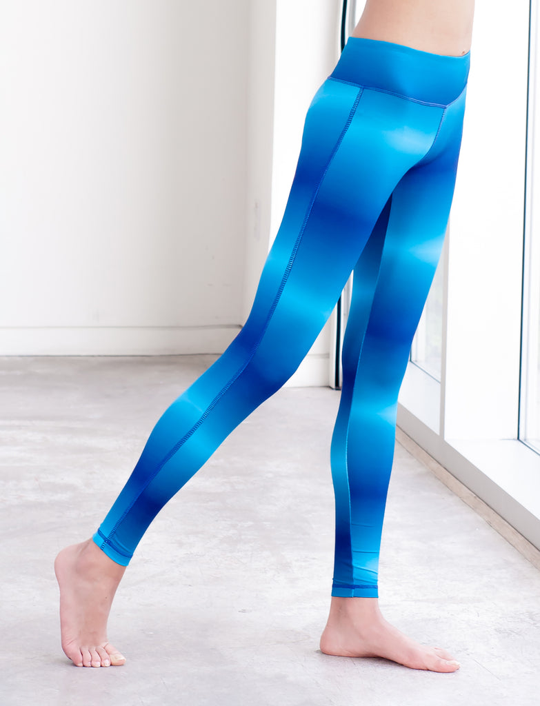 GIRLS OMBRE PRINT LEGGINGS