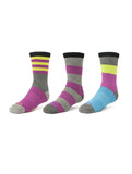 GIRLS CASUAL CREW SOCKS