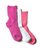 GIRLS 3 PACK FASHION CASUAL SOCKS