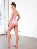 GIRLS ASYMMETRICAL SHOULDER ONE PIECE