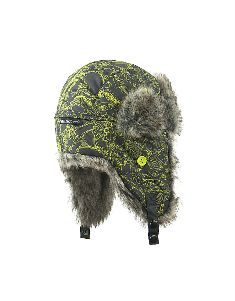 BOY'S 2-3X TRAPPER W/ FAUX FUR