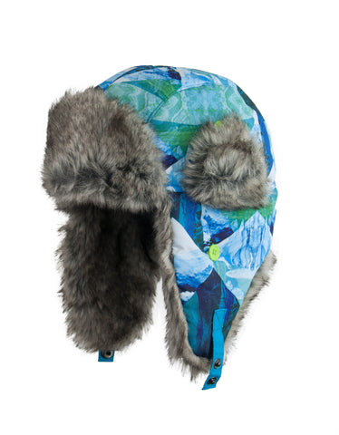 BOY'S 4-16 TRAPPER W/ FAUX FUR