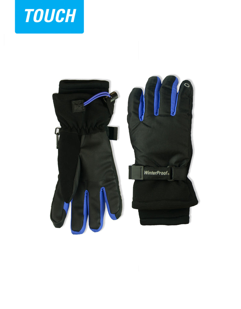GIRL'S 7-16 TOUCH CAPABLE SKI GLOVE
