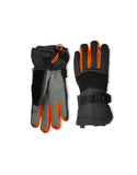 BOY'S 4-16 SKI GLOVE W/ DEBOSSED SPIDER WEB DETAIL