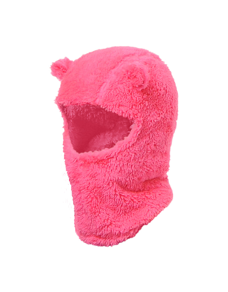 GIRLS 2-6X PLUSH BALACLAVA W. EARS