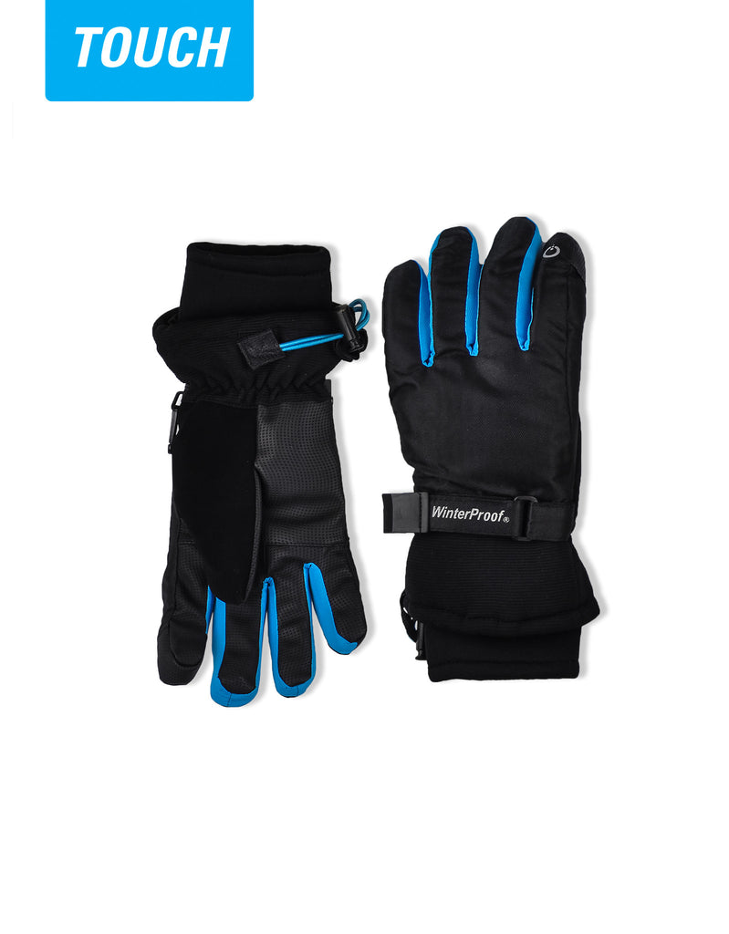 BOY'S 4-16 TOUCH CAPABLE SKI GLOVE