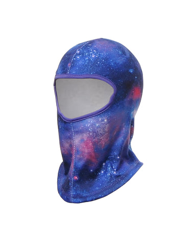 GIRLS 2-6X GALAXY PRINT BALACLAVA
