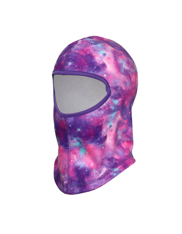 GIRLS 2-6X PRINTED FLEECE BALACLAVA
