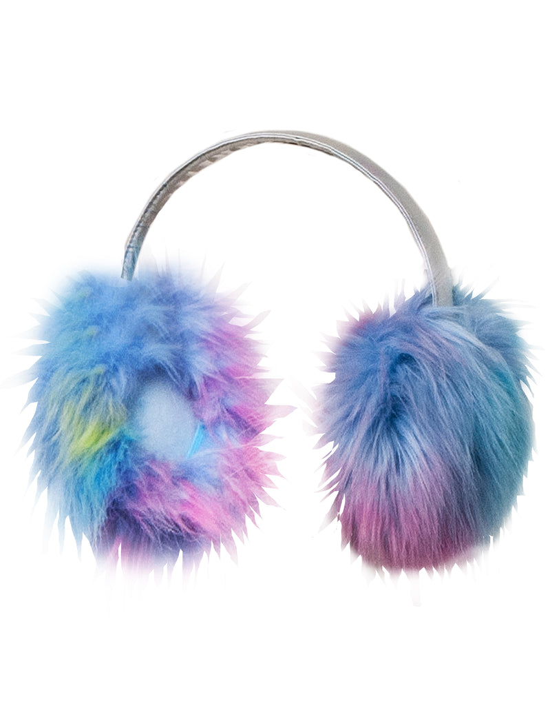 GIRLS 7-16 FAUX FUR EAR MUFFS